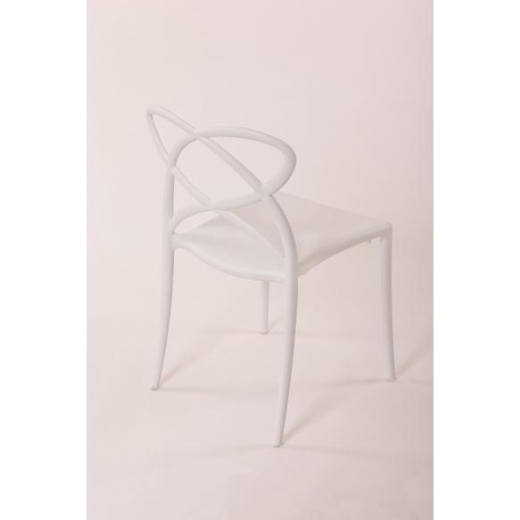 tuoli Cocha, valkoinen