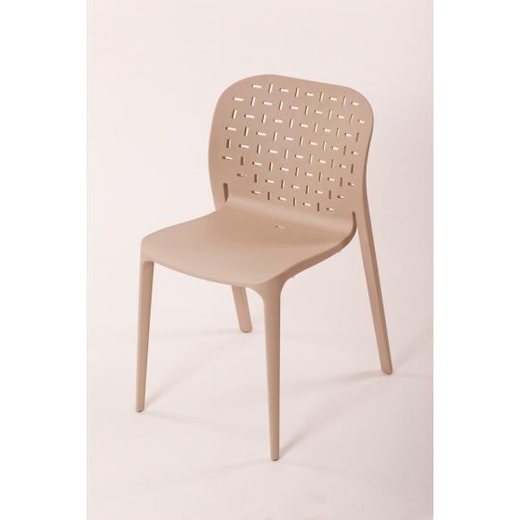 tuoli Abuso, ruskea