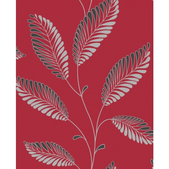 Accents Leaf Red/Black