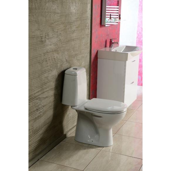 wc-istuin Riga, 2-toiminen, viemäröinti taakse, istuinkansi ei kuulu settiin