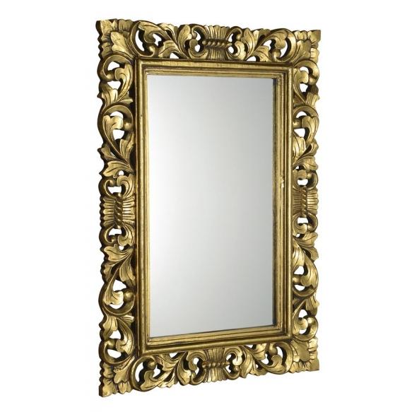 peili Scole, 100x70 cm, antiikkikultaa