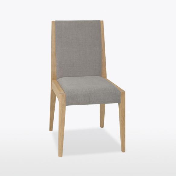 kangaspehmusteinen tuoli Lucy