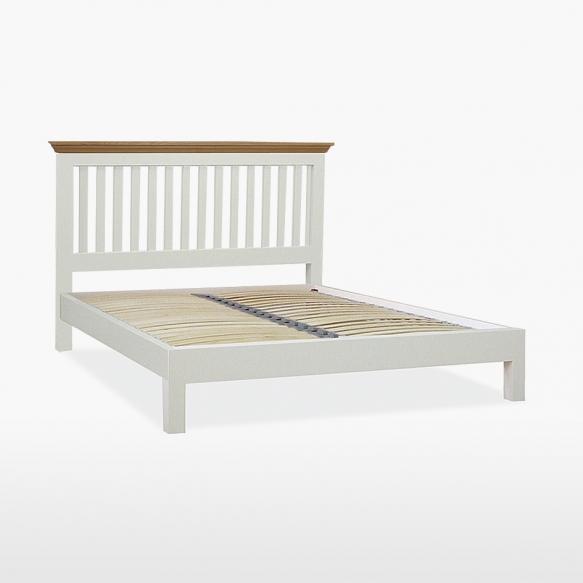 COELO Super king size -sänky matalalla jalkopäällä (180x200 cm)