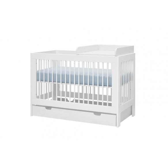 vauvansänky-sänky Basic, 120x60 cm, ilman sänkylaatikko ja hoitotaso