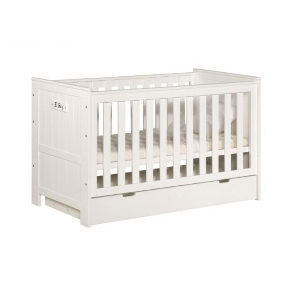 vauvansänky Blanco, 140x70, ilman sänkylaatikkoa, beige