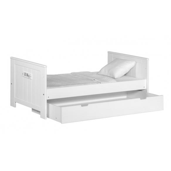 vauvansänky Blanco, 140x70, ilman sänkylaatikkoa, valkoinen