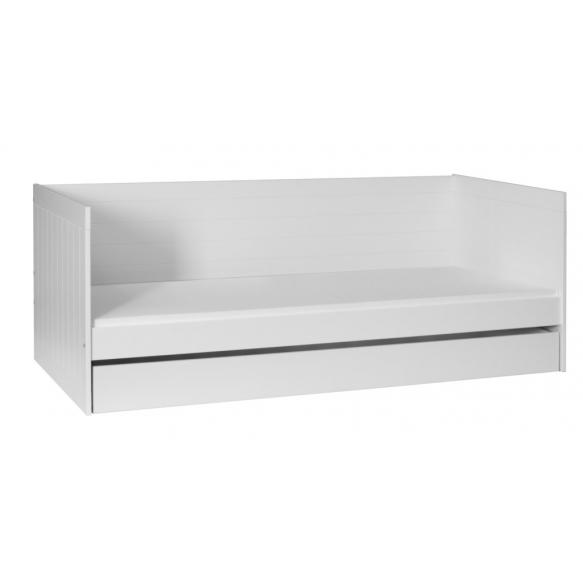 sänky Royal, 200x90 cm, valkoinen