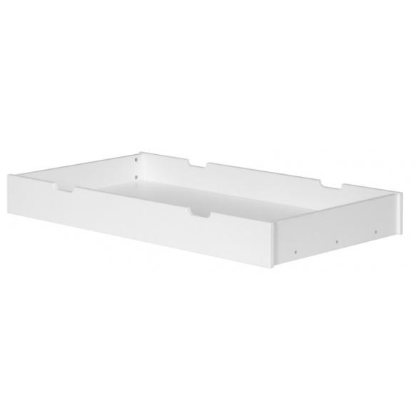 sänkylaatikko Calmo, 140x70 cm, valkoinen
