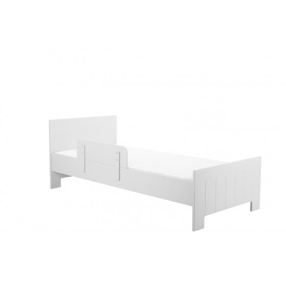 sänky Calmo 200x90 cm, sänkylaatikko ei kuulu hintaan, valkoinen