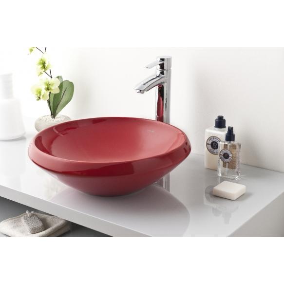 Creavit pesuallas pöytätasolle, punainen, 45 cm