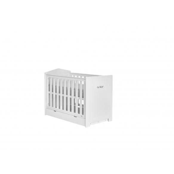 vauvansänky Marseilles, 120x60, sänkylaatikko ei kuulu hintaan, MDF