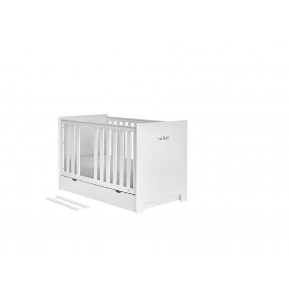 vauvansänky Marseilles, 140x70, sänkylaatikko ei kuulu hintaan, MDF