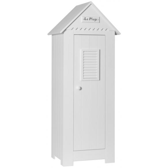 1-ovinen vaatekaappi Marseilles, valkoinen