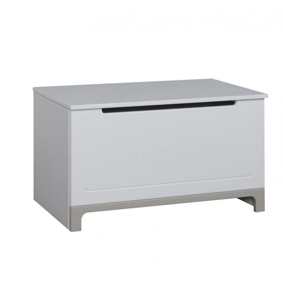 lelulaatikko Mini, valkoinen+harmaa