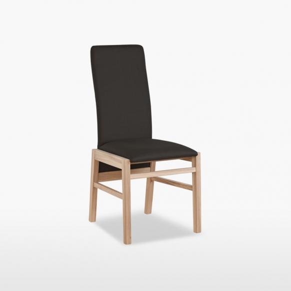 nahkapäällysteinen tuoli Tess