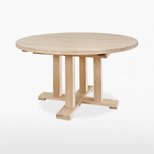 jatkettava pyöreä ruokapöytä Quercia 150/200 cm
