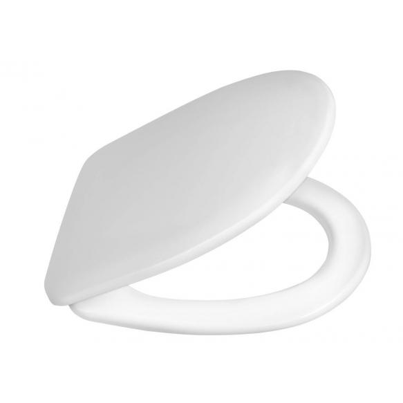 valkoinen duroplast-istuinkansi seinä-wc-istuimelle Riga