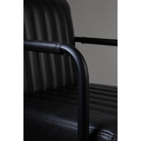 tuoli Stiched, tummanharmaa