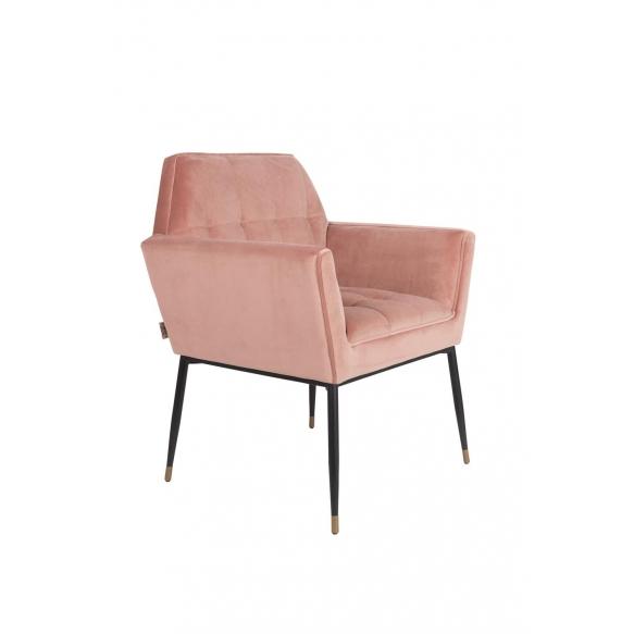 tuoli Kate, pink clay