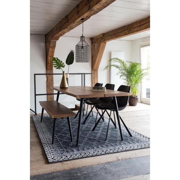 ruokapöytä Alagon, 200x90 cm