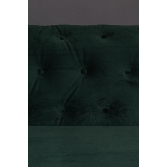sohva Chester Velvet, tummanvihreä