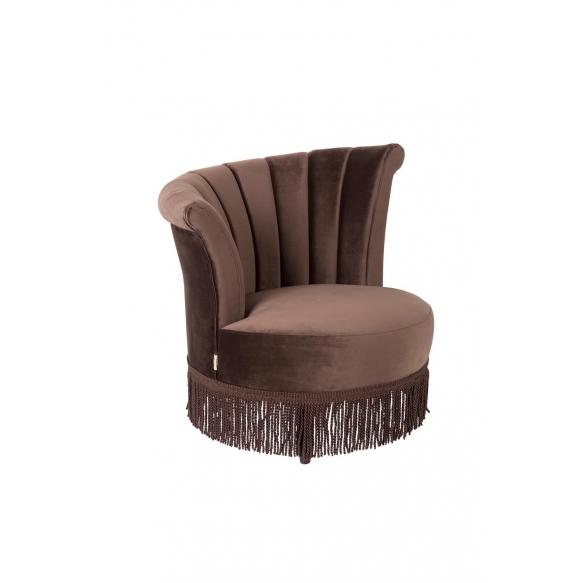 nojatuoli Chair Flair, tummanruskea