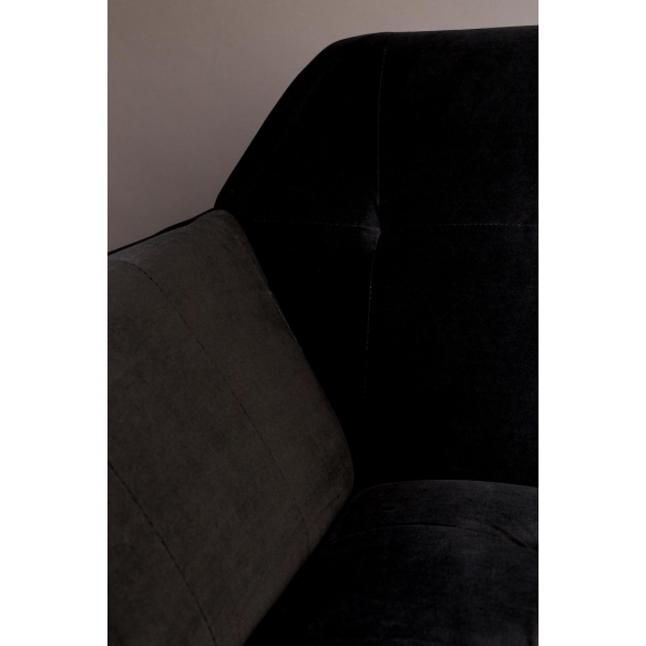 sohva Kate, musta