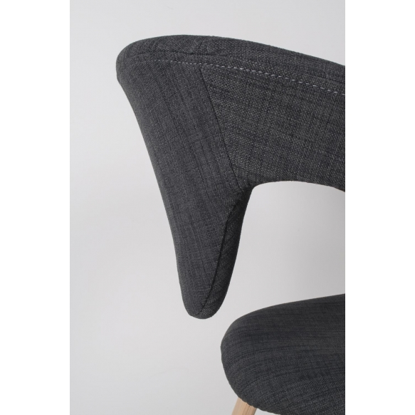 käsinojallinen Flexback, natural/tummanharmaa