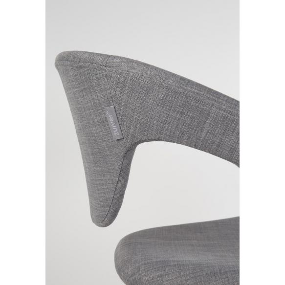 käsinojallinen Flexback, musta/harmaa