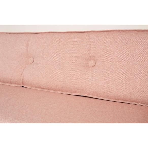 2,5-paikkainen sohva Jaey, roosa