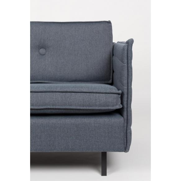2,5-paikkainen sohva Jaey, comfort harmaa/sininen 81