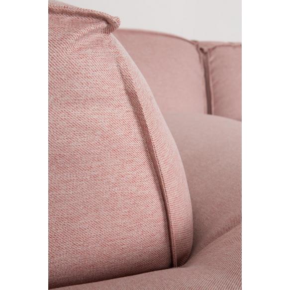 nurkkasohva Fat Freddy, roosa, vasen