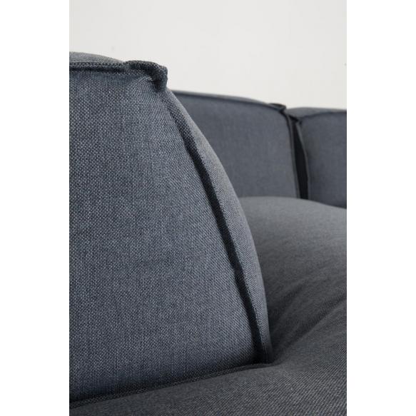 nurkkasohva Fat Freddy, comfort harmaa/sininen 81, vasen