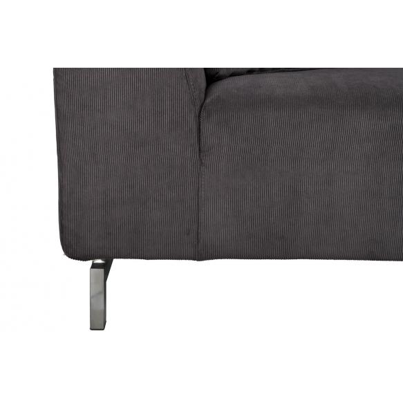 3-paikkainen sohva Dragon, harmaa