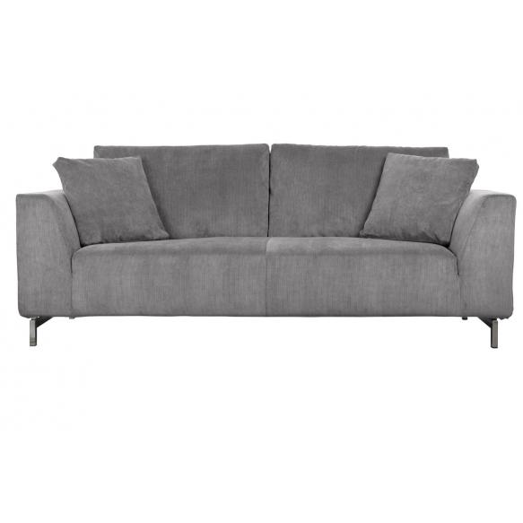 3-paikkainen sohva Dragon, vaaleanharmaa