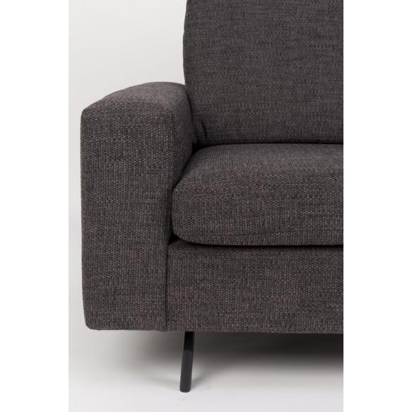 2,5-paikkainen sohva Jean, antrasiitti