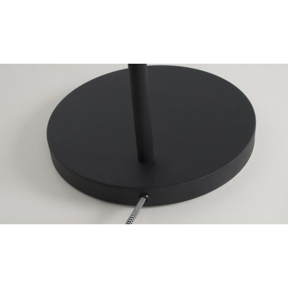 lattialamppu Buckle Head, musta