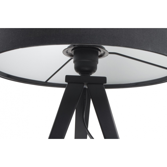 pöytälamppu Tripod, musta