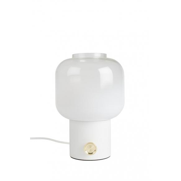 pöytälamppu Moody, valkoinen