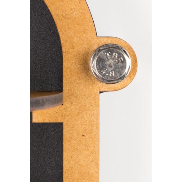 seinälamppu Navigator, musta