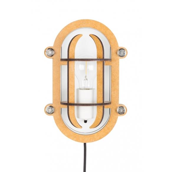 seinälamppu Navigator, valkoinen