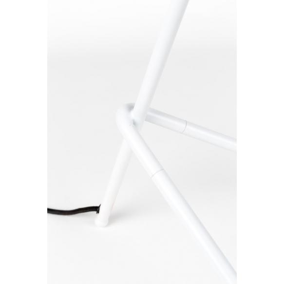 pöytälamppu Shady, valkoinen