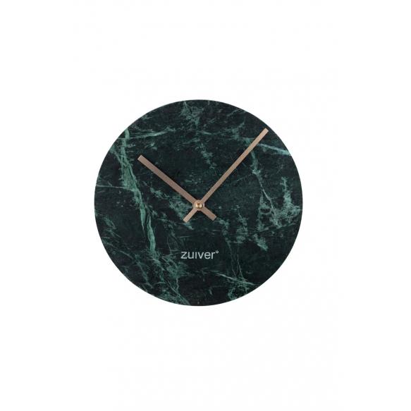 seinäkello Marble Time, vihreä