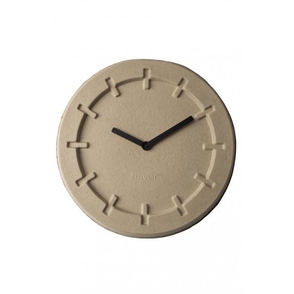 seinäkello Pulp Time, pyöreä, beige