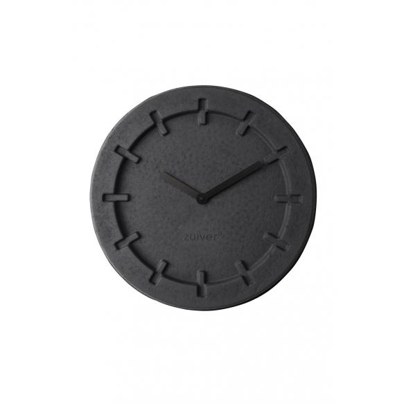 seinäkello Pulp Time, pyöreä, musta