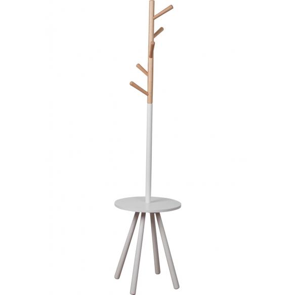 vaatenaulakko Table Tree, valkoinen