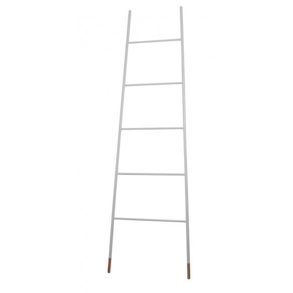 tikasmallinen naulakko Ladder, valkoinen