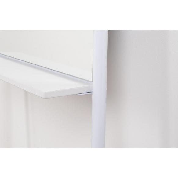 peili Leaning, valkoinen