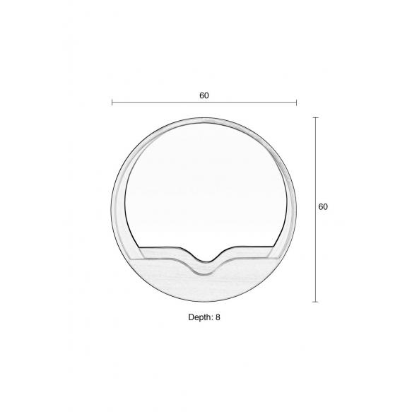 peili Round Wall 60 (näytekappale)