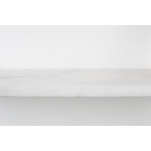 seinähylly Fad Marble, valkoinen